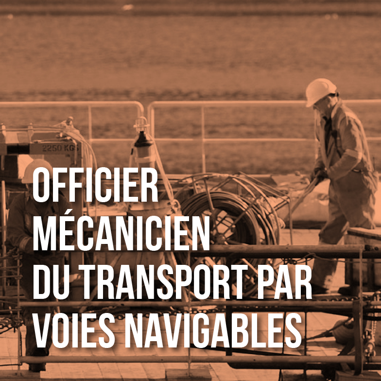 Officiers mécaniciens du transport par voies navigables