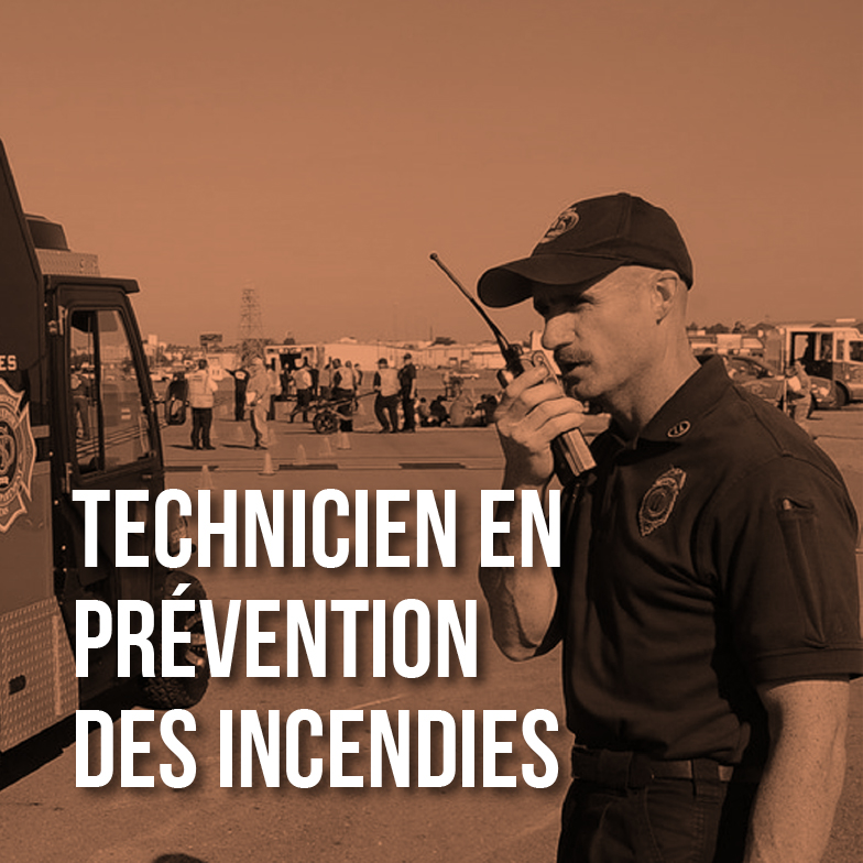 Technicien prévention des incendies